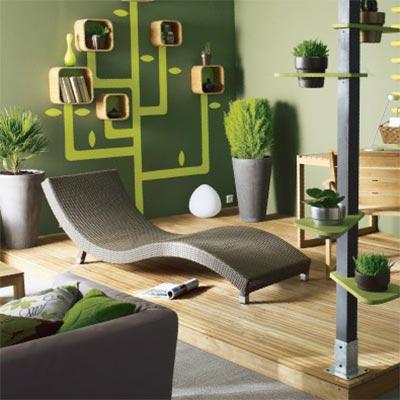 Web design onglet décoration Castorama