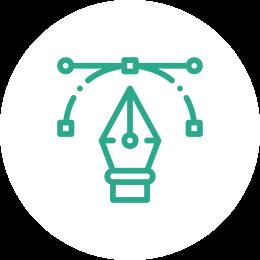 Service design identité visuelle infographie Pixel Salad