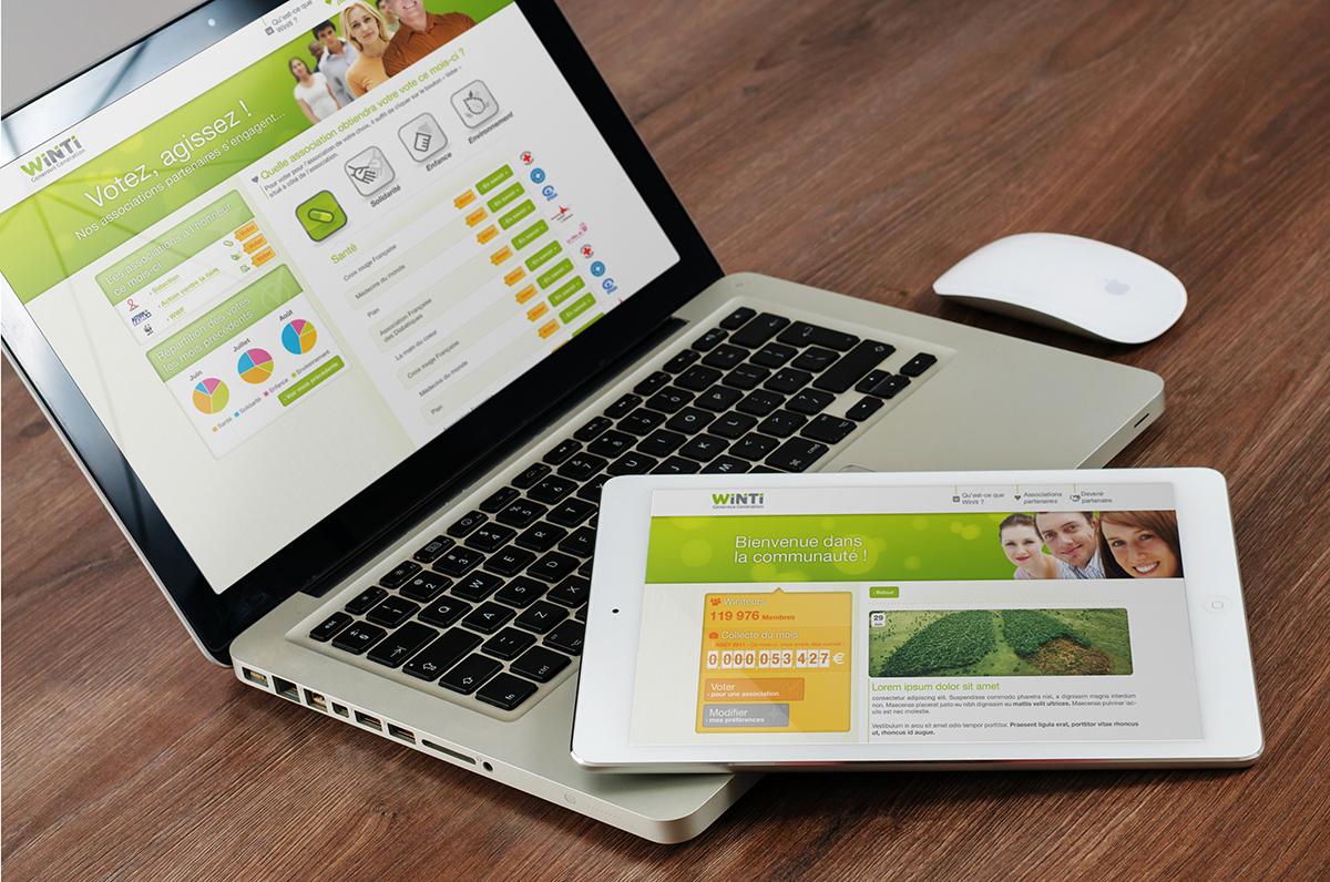 Webdesign site internet Winiti