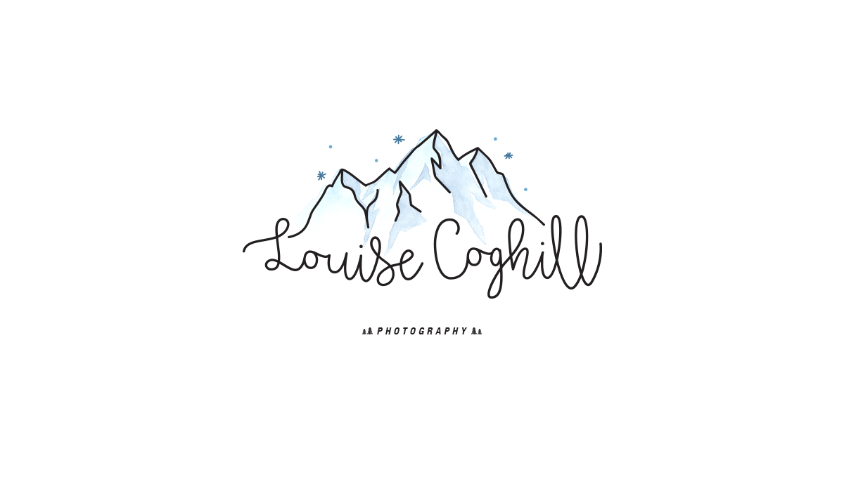 Design logo Louise Coghill photographe Australienne